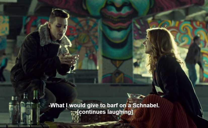 Julian Schnabel in Orphan Black
