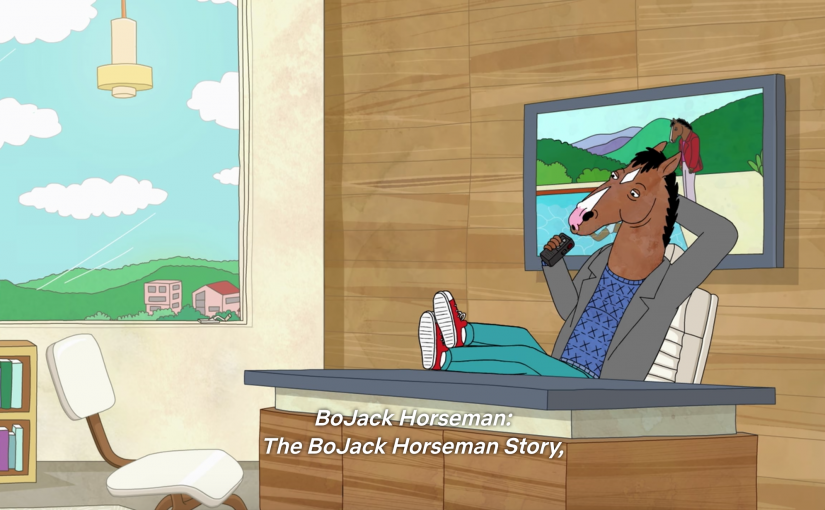 Kunst op tv, afl. 8: David Hockney in BoJack Horseman